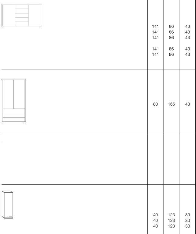 8 23 - Comodă Malibu 2 (Wiemann)