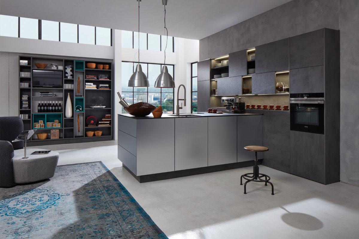 1340 1 3 1200x800 - Bucătăria Silvia Beton (Beckermann Kuchen)