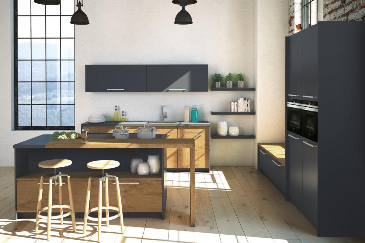1340 3 1 1200x800 - Bucătăria Silvia Colour (Beckermann Kuchen)
