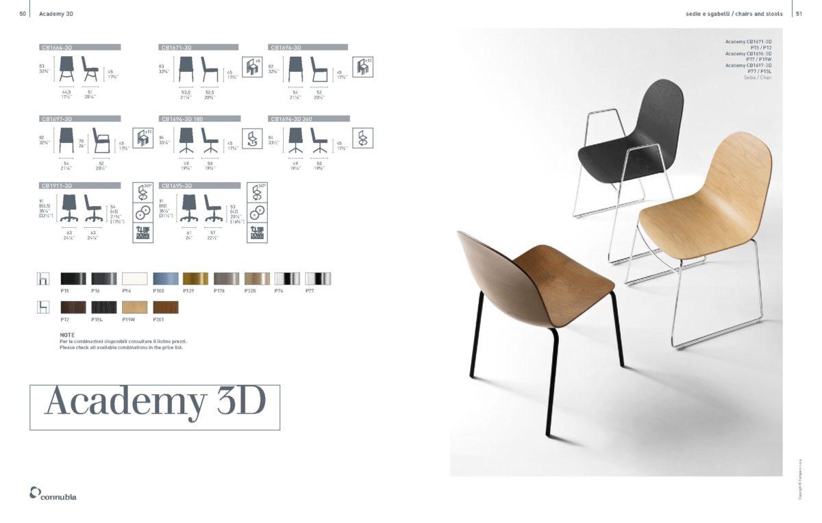 ACADEMY 3D 1 1200x764 - Scaun Academy (Connubia)