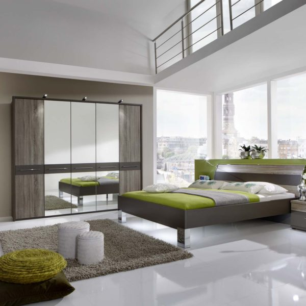 ANCONA 20188 12 Havanna D.Abs .TrueffeleicheNB DTS250cm3Spt Bett mBlockf. Beimoebel 600x600 - Dormitor Ancona (Wiemann)