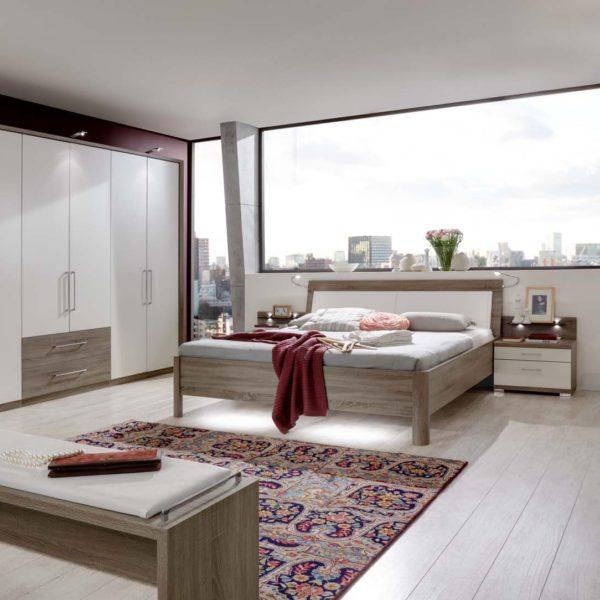AVIGNON 6161 13 TrueffeleicheNBAbs.alpinweiss mFuDTS300cm Beimoebel 600x600 - Dormitor Avignon (Wiemann)