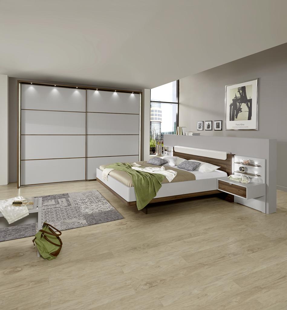 CATANIA 22657 15 mSWT300cmH240cm Bett schwebend Naka 1Z  HOCHFORMAT - Dormitor Catania (Wiemann)
