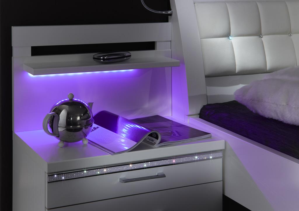 DUBAI 4566 11 RGB Licht violett - Comodă Dubai (Wiemann)