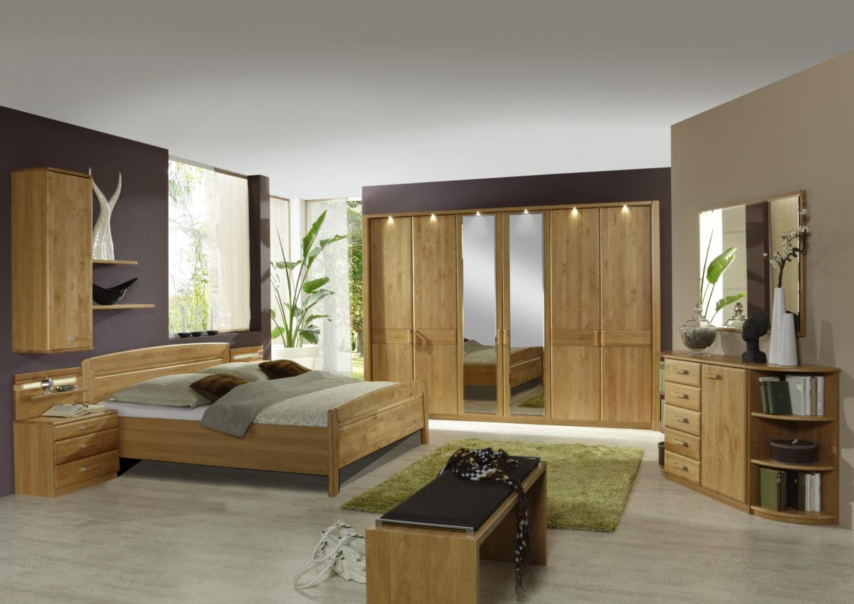LAUSANNE bear 10830 10 m DTS300cm2Spt Bett OHNE SK Beimoebel 1200x848 - Dormitor Lausanne (Wiemann)