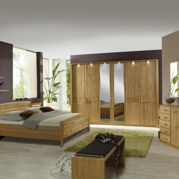 LAUSANNE bear 10830 10 m DTS300cm2Spt Bett OHNE SK Beimoebel 600x600 - Dormitor Lausanne (Wiemann)