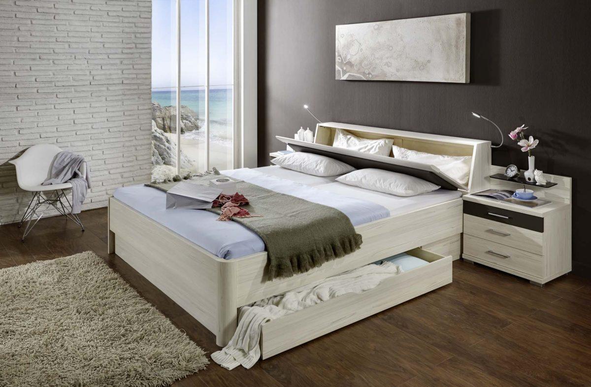 LISSABON 75 14 Bettanlage einzeln Polar LaercheNBAbs.Havanna D 1200x786 - Dormitor Lissabon (Wiemann)