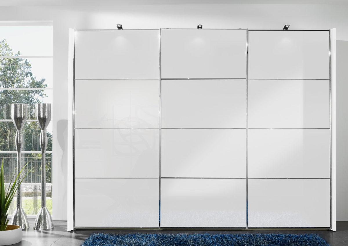 Miami 2 bear05 12 12 b weiß SWT300cmFront Glas weiß mPower LED Aufbauleuchten 1200x848 - Dulap Miami +  (Wiemann)