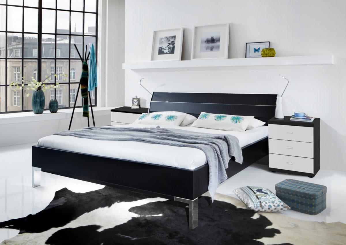 Miro bear0901 15 3146 13 Bettanlage schwarz Naka Miro 3Z.Glas weißKorpus schwarz 1200x848 - Dormitor Miro (Wiemann)