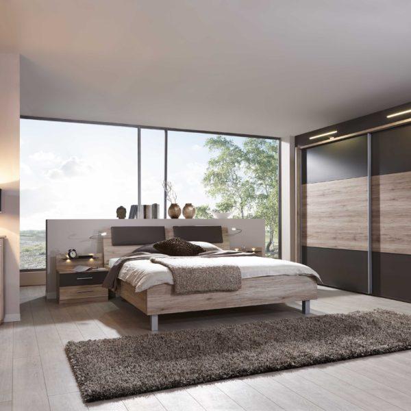 PORTLAND Santana EicheNBAbs.Havanna D. mSWT300cm Beimoebel 600x600 - Dormitor Palermo (Wiemann)