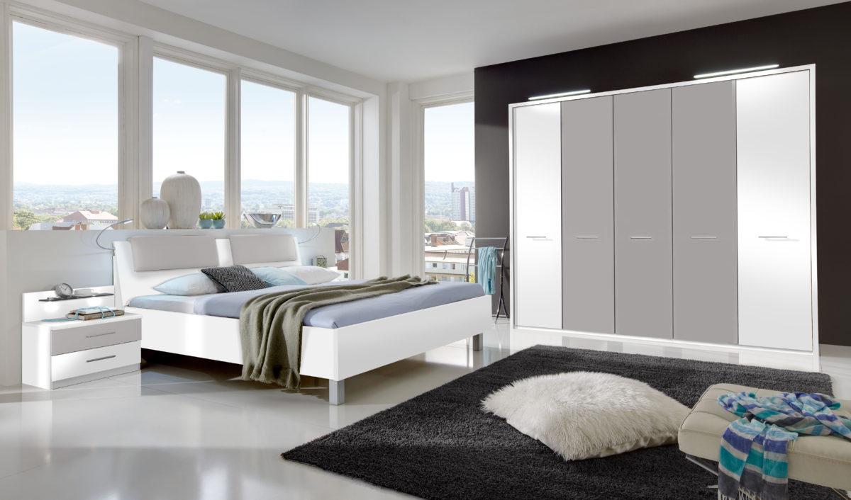 PORTLAND bearMW WeißAbs.Kieselgrau D 1200x706 - Dormitor  Portland (Wiemann)
