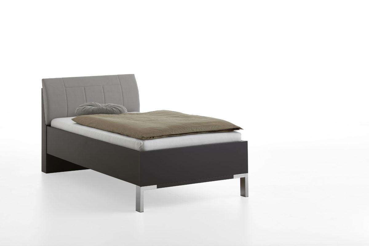VIGO 969 19 Hav. D. Bett 100x200cm Polster Kgrau 1200x800 - Dormitor Vigo (Wiemann)