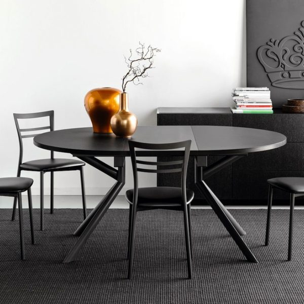 giove table by connubia calligaris 600x600 - Masa Giove (Connubia)