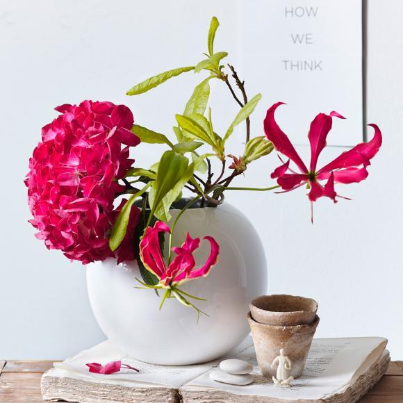 lah201504062 vasen - Vază White Gloss (11349005)