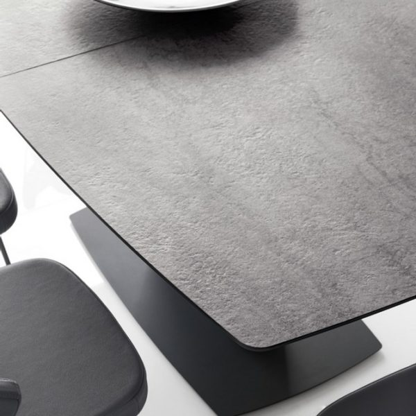 tavolo athos di connubia by calligaris allungabile con piano in ceramica o vetro 1 600x600 - Masa Athos (Connubia)