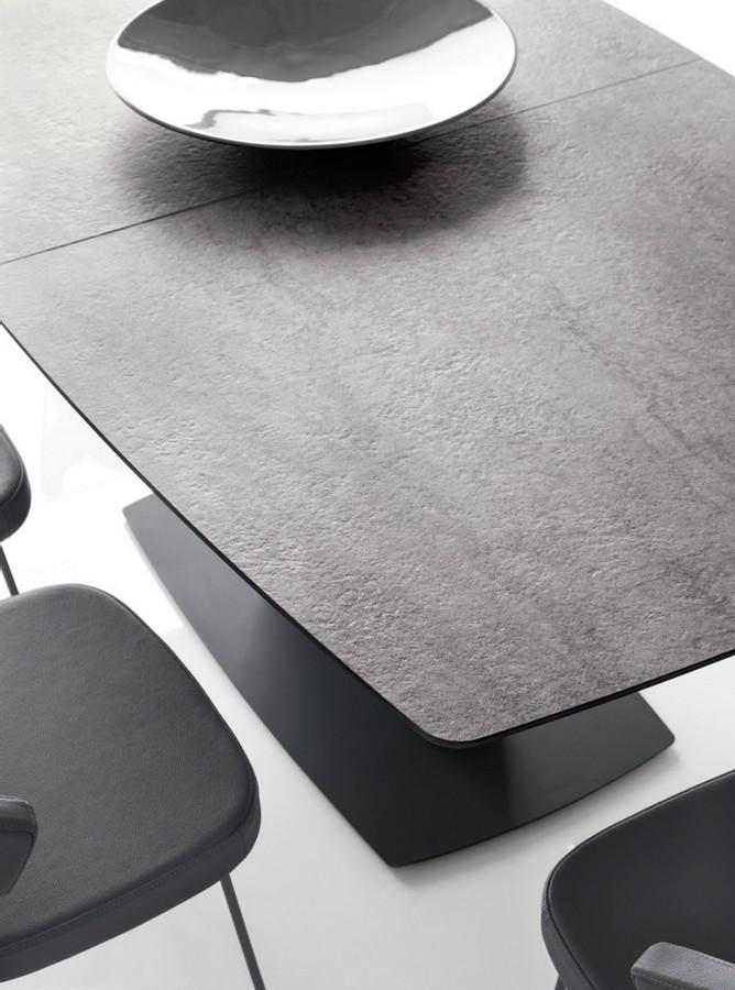 tavolo athos di connubia by calligaris allungabile con piano in ceramica o vetro 1 - Masa Athos (Connubia)