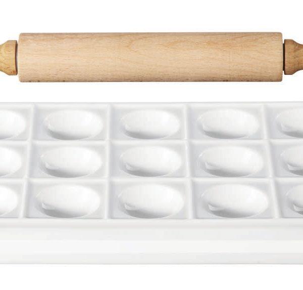 52410017 Raviolimaker Set 600x573 - Set pentru ravioli Kitchen (52410017)