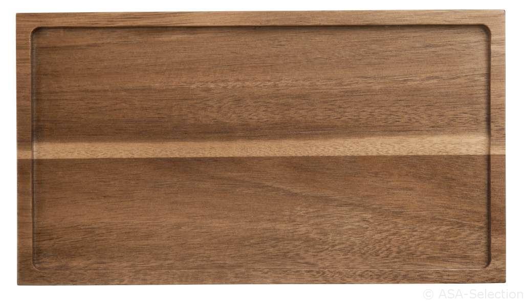 93800970 holztabletts tabletop - Tavă din lemn rectangulară (93800970)