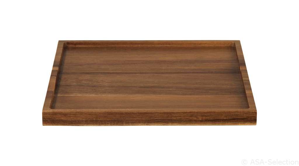 93801970 holztabletts - Tavă din lemn pătrată (93801970)