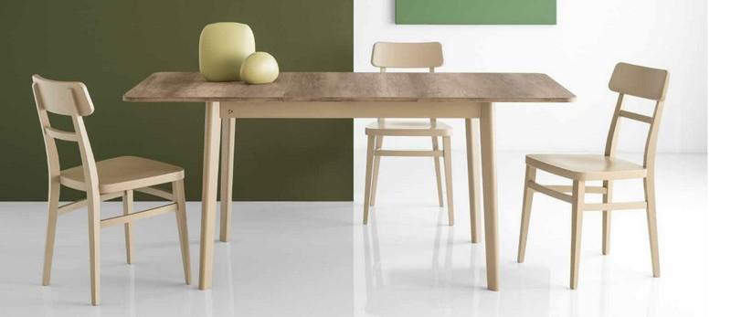sedia in legno modello milano di connubia calligarsi - Scaun Milano (Connubia)