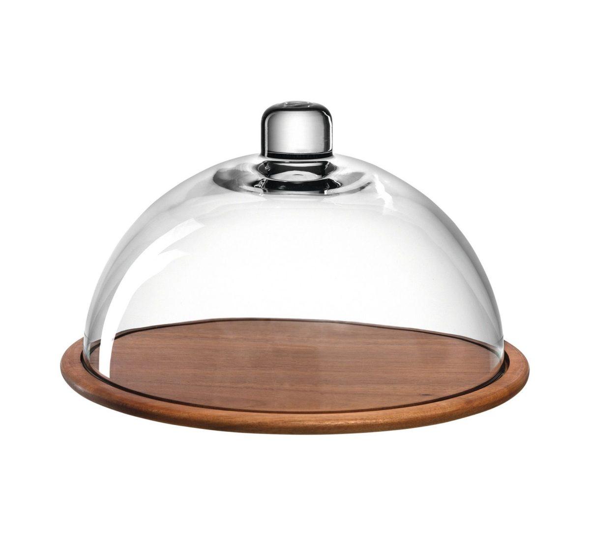 018519 0 k 2 1200x1103 - Placă de lemn pentru cașcaval cu capac de sticlă Cucina (L018519)