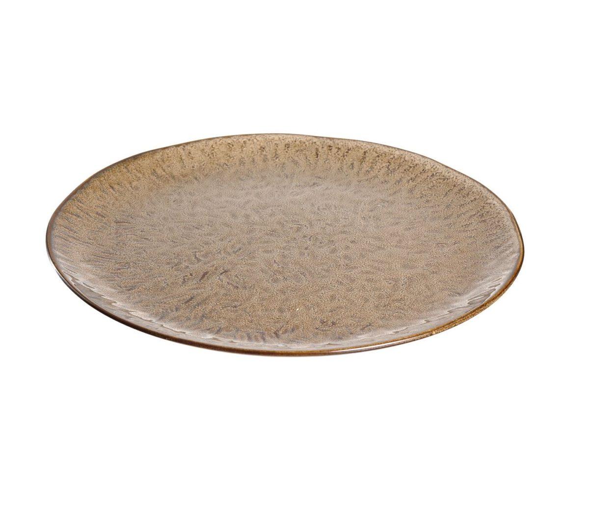 018537 0 k 1 1200x1041 - Farfurie ceramică Matera sand 27 cm (L018537)