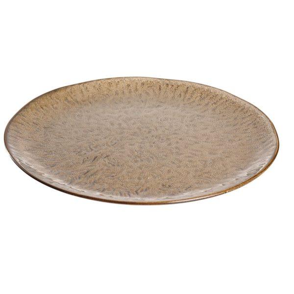 018537 0 k 1 600x600 - Farfurie ceramică Matera sand 27 cm (L018537)