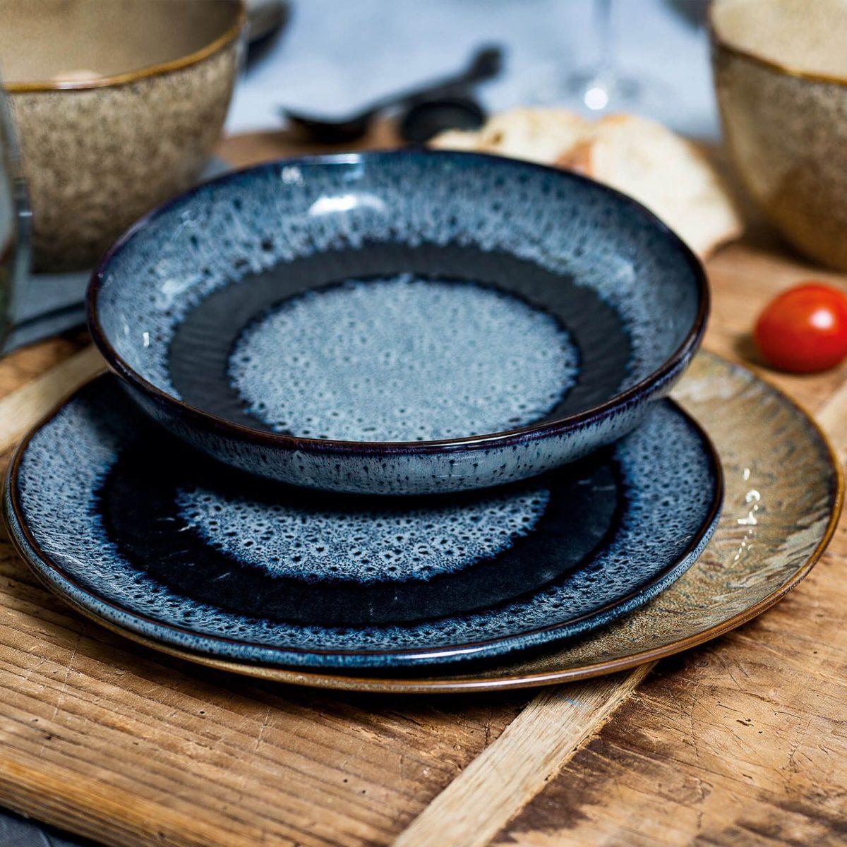 018537 2 k 1200x1200 - Farfurie ceramică Matera sand 27 cm (L018537)