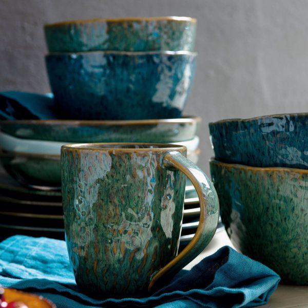 018543 3 k 600x600 - Cana ceramică Matera green (L018543)