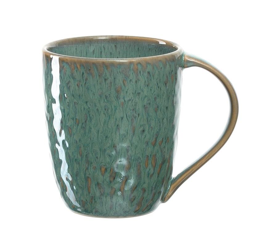 018543 matera gastronomie kaufhaus - Cana ceramică Matera green (L018543)