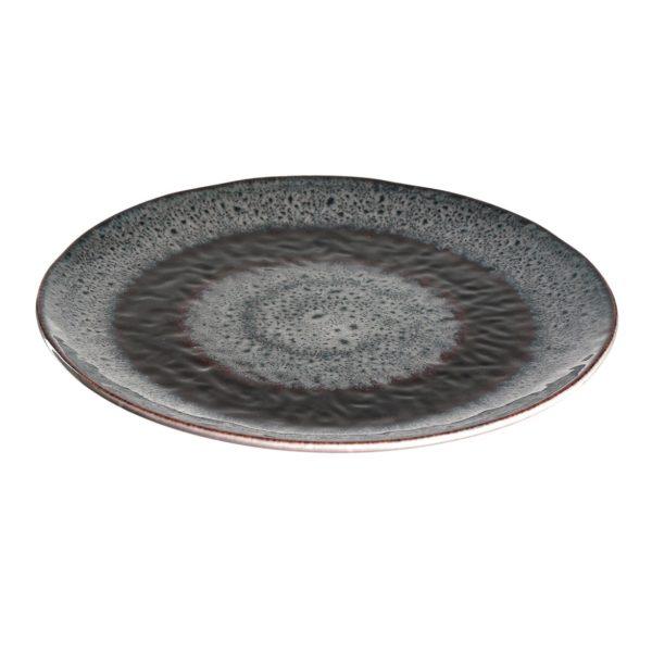018555 matera gastronomie kaufhaus 600x600 - Farfurie ceramică Matera grey 23 cm (L018555)