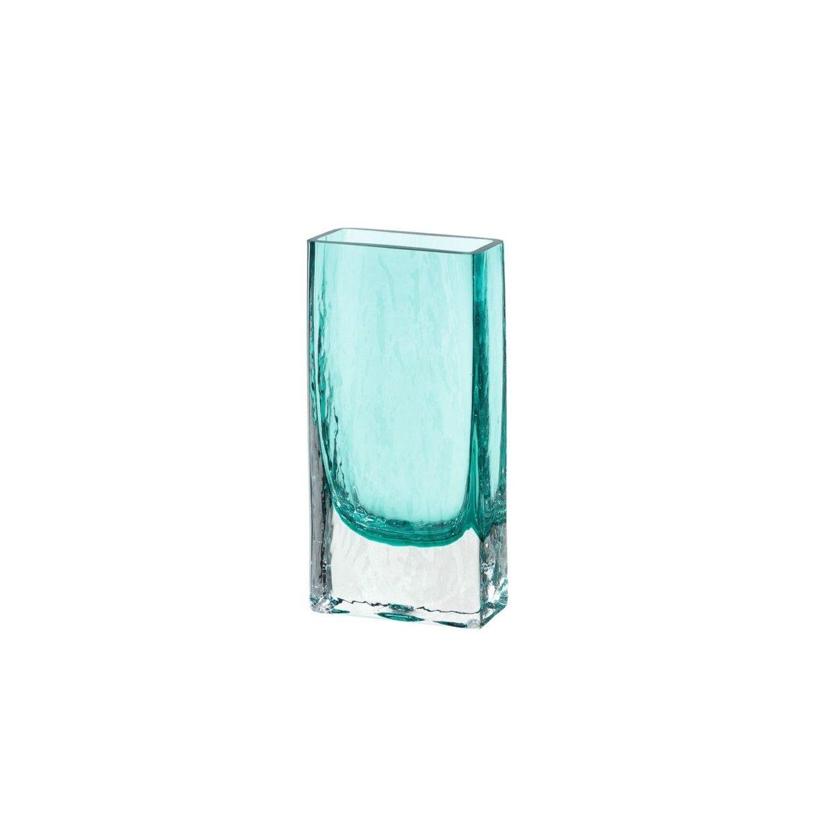 020811 0 k 1 1200x1200 - Vază square Lucente turquoise 21 cm (L020811)