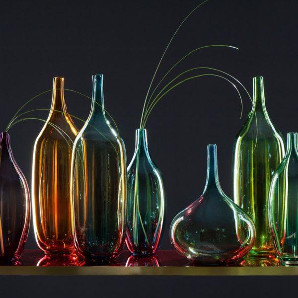020814 1 k 1 600x600 - Vază luster Lucente amber 46 cm (L020821)