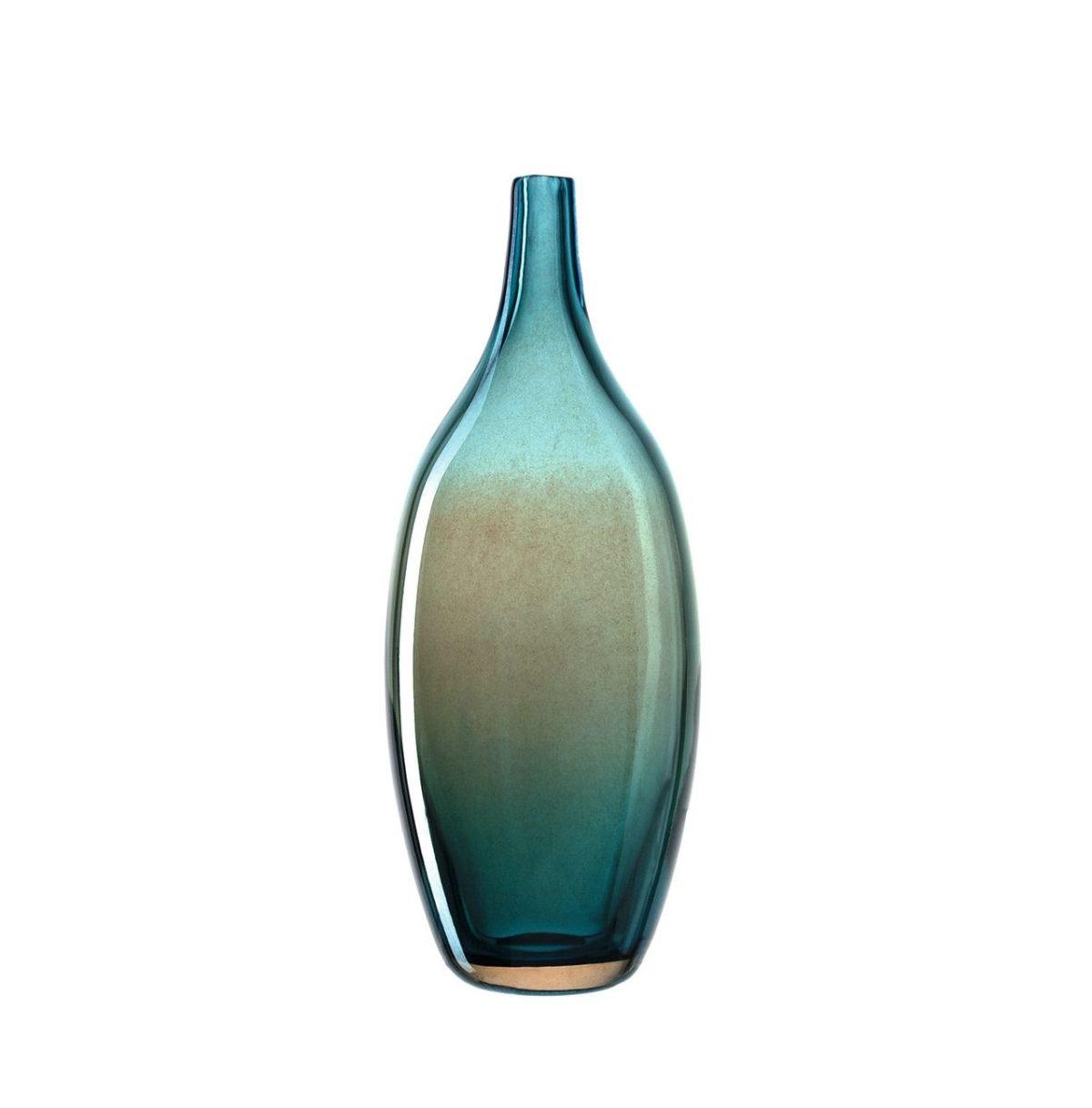 020815 0 k 1 1200x1217 - Vază luster Lucente turquoise 32 cm (L020815)