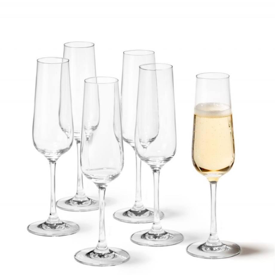 020962 Leonardo Tivoli pohar pezsgos 210ml 5 - Pahar pentru șampanie Tivoli 210 ml (L020962)