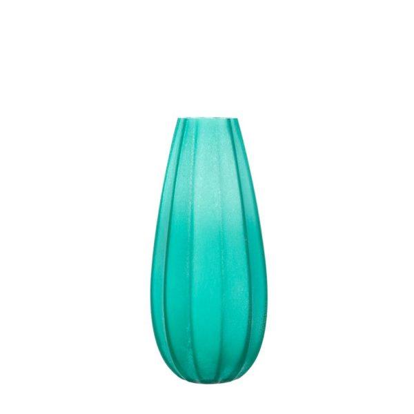 024434 0 k 600x600 - Vaza decorativă Ferrara turquoise 35 cm (L024434)