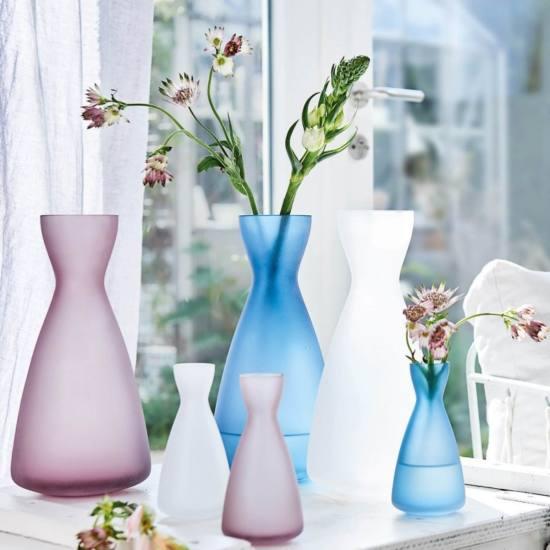 032958 Leonardo Milano vaza 28cm rozsaszin 2 - Vaza decorativă Milano rose 28 cm (L032958)
