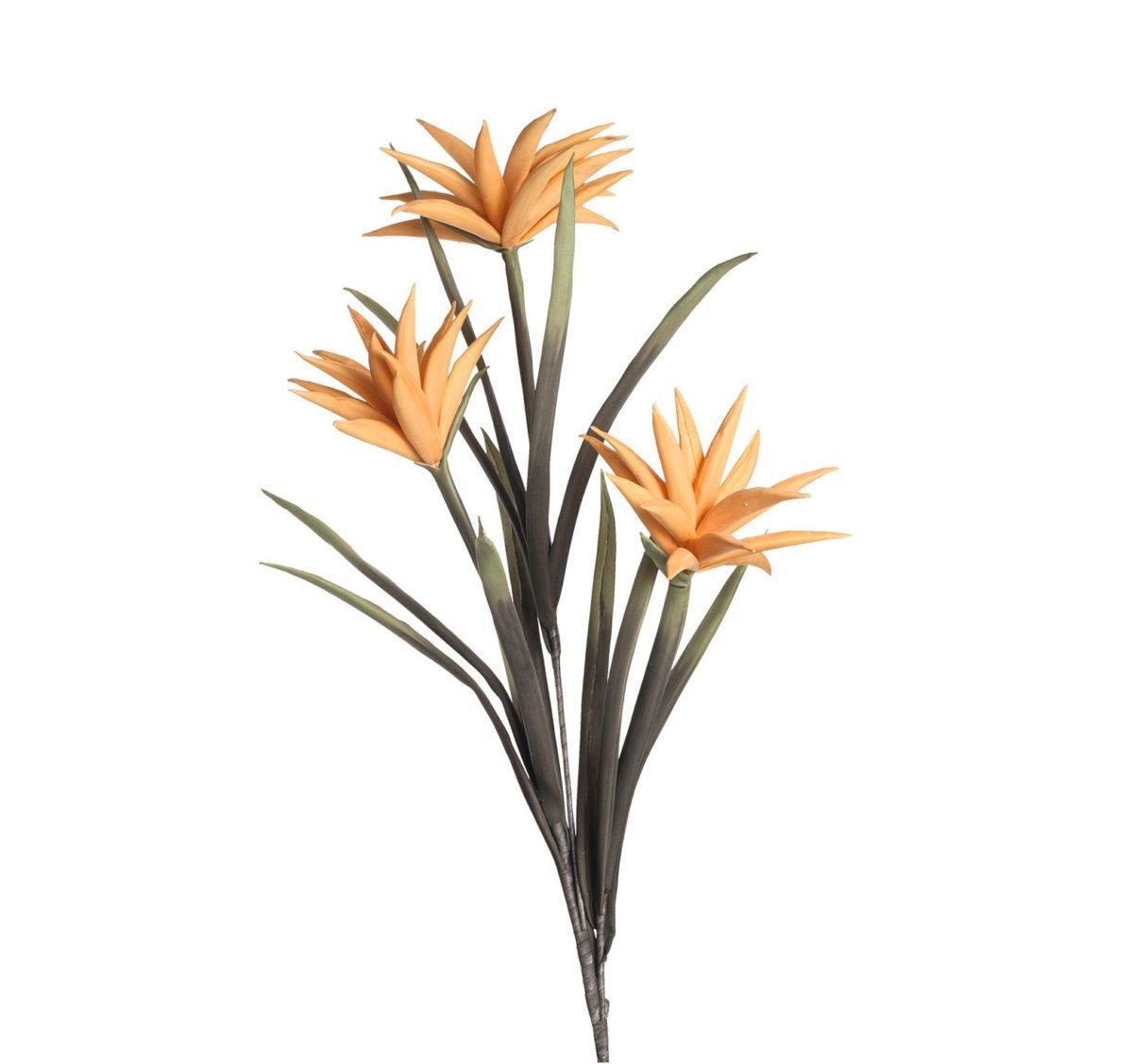 038518 0 k 1 1 1200x1127 - Floare decorativă Cotton orange 105 cm (L038518)