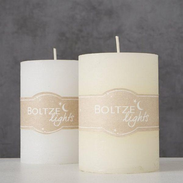 1008632 1 600x600 - Lumânare Boltze white 10 cm (1008632)