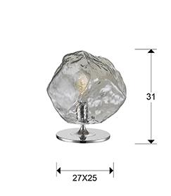213547 - Lampă de masă Petra (213547)