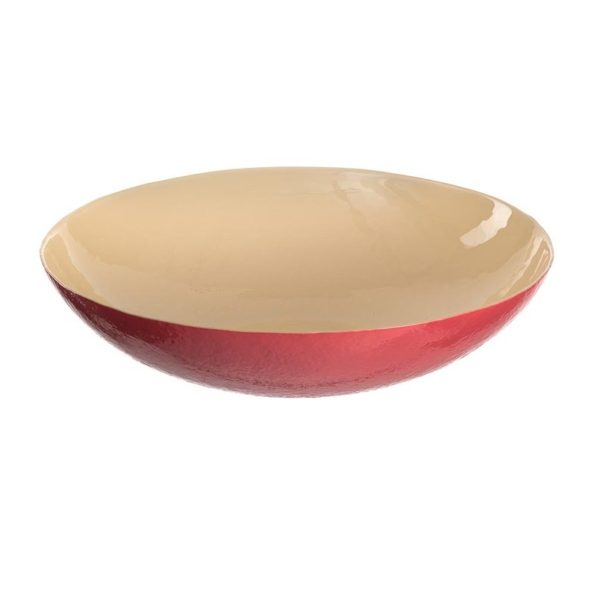 2291864d9d934b0be839d5dc62783dcf p1 600x600 - Farfurie Pastello red/yellow 31 cm (L023908)