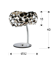 266577 - Lampă de masă Narisa (266577)