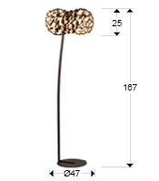 266616N - Lampă Naris (266616N)