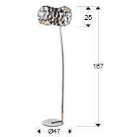 266695 - Lampă Naris (266695)