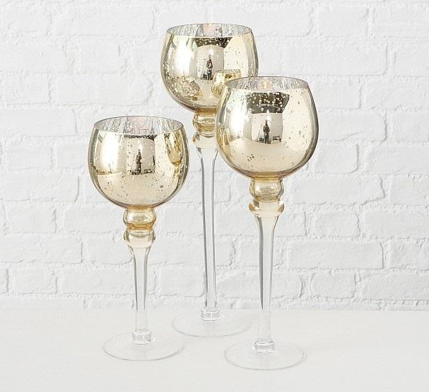 663399z38766cab - Suport pentru lumânări MANOU champagne (1015751)
