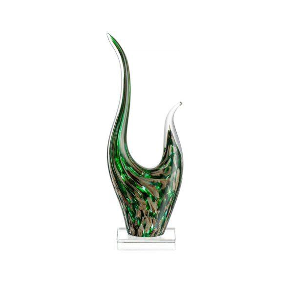 71iDLm74F0L. AC SL1500  600x600 - Statueta decorativă Impulso green/beige 40 cm (L034875)