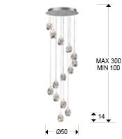 785635D - Lustră Rocio (785635D)