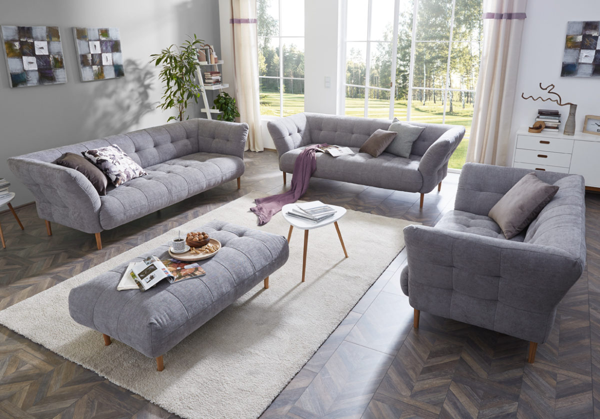 Big Apple 325Loveseat Yelda light grey o.Namen  1200x838 - Canapea Big Apple 3C Candy Polstermoebel