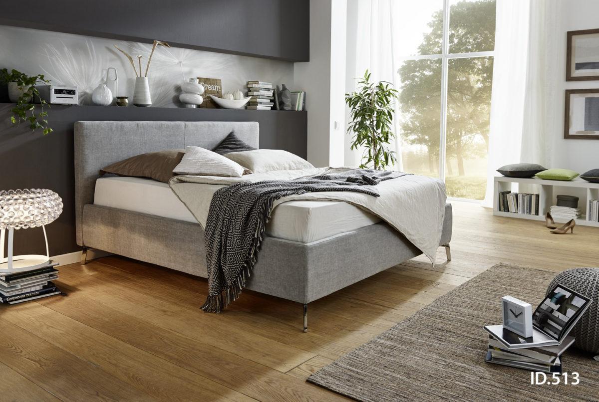 Flat 180x200 Vintage platin1 1200x806 - Dormitor Flat 3C Candy Polstermoebel