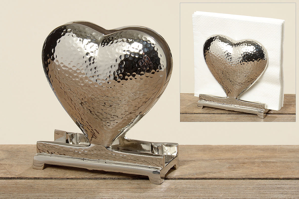 Heart Napkin Holder 5025400 - Suport pentru șervețele GANYA (5025400)